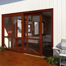 Insulated Patio Doors Sliding Patio Door Pvc Double Glazed Thermally Insulated