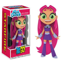 teen titans rock candy figures mystery minis plushies