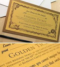 wedding invitations kilkenny golden ticket wedding invitations yourweek 5cd617eca25e