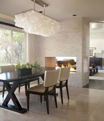 Transitional Chandeliers For Dining Room by Rectangular Chandelier Over Table Dining Room Contemporary With