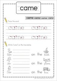 sight words handwriting book primer words great for handwriting