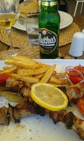une jatte en cuisine underbar restaurant souvlaki var jätte god rekommenderar starkt