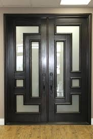 Modern Front Entry Doors In African Mahogany Chad Womack by Front Doors Home Door House Contemporary Black Front Doors Uk