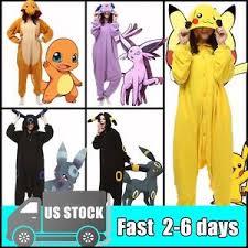 Pikachu Halloween Costume Men Anime Pokemon Pikachu Kigurumi Adults Cosplay Costume Piece