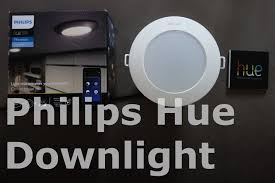 home depot hue lights philips hue phoenix downlight unboxing first impressions youtube