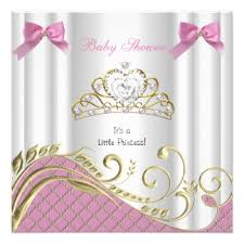 baby shower for a girl baby shower invitations announcements zazzle ca