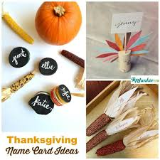 11 thanksgiving place cards to make tip junkie