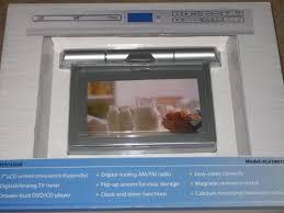 Under Kitchen Cabinet Tv Dvd Cd Player Radio Dvd Player Venturer