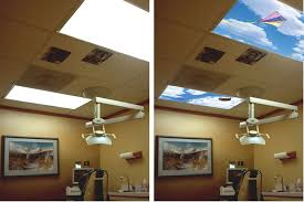 Decorative Fluorescent Light Panels Soar Classic Skypanels