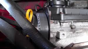 2002 kia rio 1 5 liter timing belt check youtube