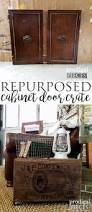 repurposed cabinet door crate prodigal pieces