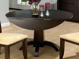 Dining Table  Round Dining Room Set With Leaf Round Dining Table - Round drop leaf kitchen table
