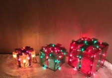 lighted gift boxes ebay