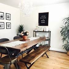 Modern Dining Room Table Best 25 Industrial Dining Rooms Ideas On Pinterest Industrial
