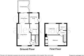 2 bedroom end of terrace house for sale in craigie lea ayr ka8