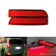2017 car styling led rear bumper reflector lights light