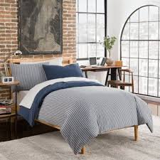 buy navy stripes duvet from bed bath u0026 beyond