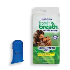 cosmos tropiclean fresh breath plaque remover pet clean teeth gel