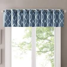 Blue Kitchen Curtains by Blue Valances U0026 Kitchen Curtains You U0027ll Love Wayfair