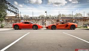 fastest lamborghini vs fastest ferrari ferrari 458 vs lamborghini aventador gtspirit