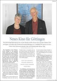Bad Gandersheim Kino Fkf Göttingen Was Bisher Geschah U2026