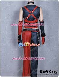 Batman Arkham Halloween Costumes Batman Arkham Harley Quinn Costume Leather