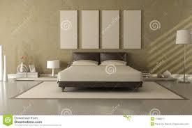 Schlafzimmer Beige Wand Brown Und Beige Schlafzimmer Stock Abbildung Bild 17888277