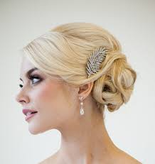 wedding hair clip wedding ideas 18 tremendous feather wedding hair accessories