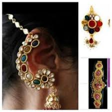 kanphool earrings peacock earring in kan phool style earrings