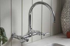 wall mount kitchen faucet kohler wall mount kitchen faucet padlords us