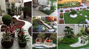 Landscape Design Ideas For Small Backyard by Garden Design Ideas With Pebbles