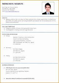 curriculum vitae for job application pdf 6 curriculum vitae sle job application besttemplates