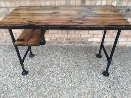 Solid Oak Office Desk Reclaimed Wood Desk Table Computer Desk Office Desk Full