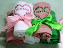 wedding gift towels embroidery wedding gift towels supplier factory king towel