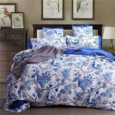 Blue And White Comforters Peacock Comforter Set Total Fab Peacock Themed U0026 Peacock Colored
