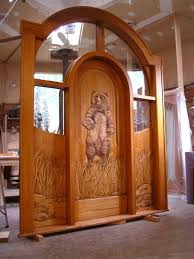 Carved Exterior Doors Log Home Exterior Doors Our Wood Carved Entry Doors Rustic Entry