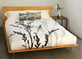 modern bedding design wooden global