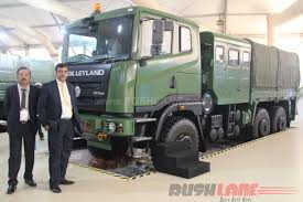 indian army orders ashok leyland fat 6x6 2016 defexpo
