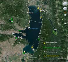 Montana Google Map by Maps Flathead Lakers
