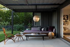 indoor outdoor kitchen designs designer visit an indoor outdoor la garden by judy kameon