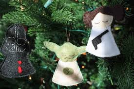 Outdoor Christmas Decorations Amazon by Christmas Star Wars Felt Ornaments Diy Christmas Geekerytions