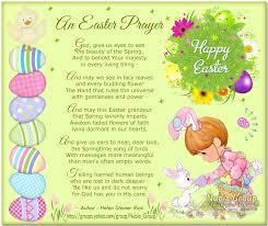 christian happy easter poem prayers for preschoolers