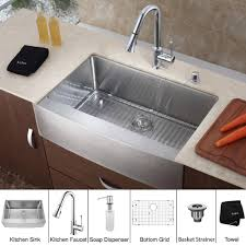Kitchen Sink Combo - stainless steel kitchen sink combination trends with 36 inch