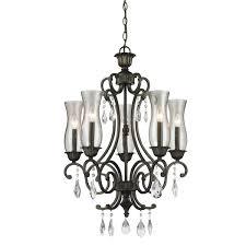 5 light bronze chandelier z lite melina 5 light bronze chandelier free shipping today