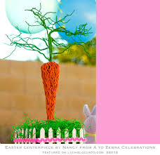 Homemade Easter Decorations Centerpiece by Diy Easter Basket Centerpiece Craft Tutorial