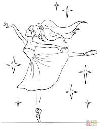coloring pages ballerina coloring