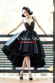 le palais vintage limited edition pin up high low 1950 ball gown