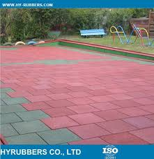 Commercial Rubber Flooring Commercial Gym Rubber Tiles 1000x1000mm China Wholesale