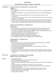 resume template administrative w experience project 2020 uc environmental coordinator resume sles velvet jobs