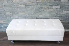 White Leather Ottoman Ottoman Mesmerizing Elegnat White Leather Ottomans For